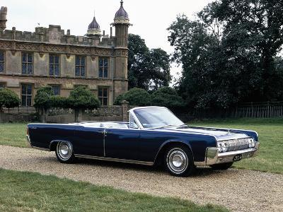 1964 Lincoln Continental--Photographic Print