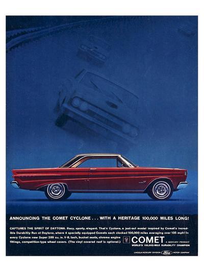 1964 Mercury - Comet Cyclone--Premium Giclee Print