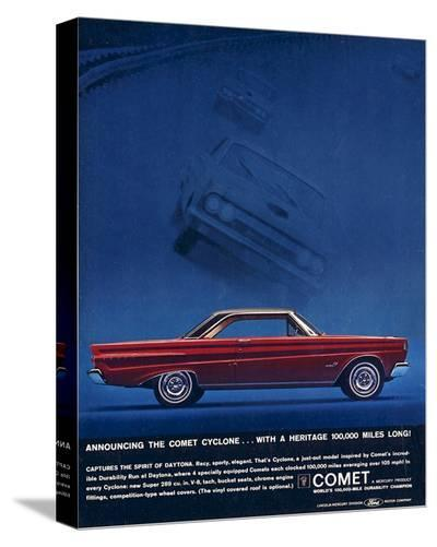 1964 Mercury - Comet Cyclone--Stretched Canvas Print