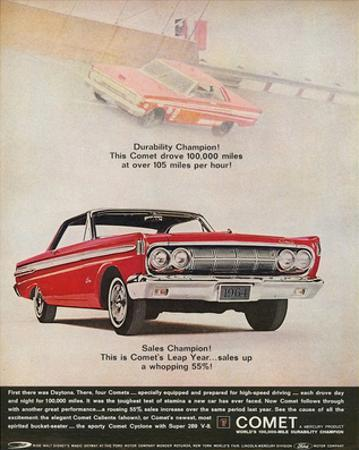 1964 Mercury - Comet Leap Year