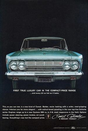 1964 Mercury - Compact Luxury