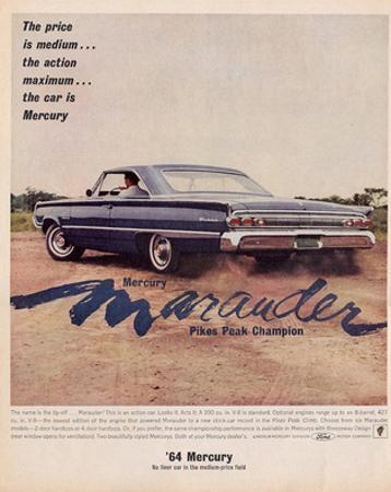 1964 Mercury - Marauder Price