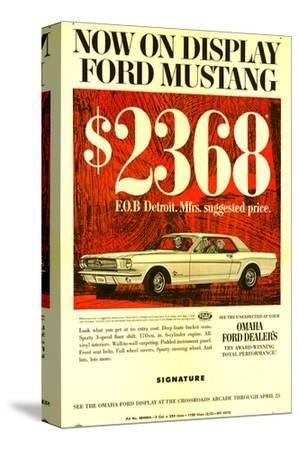 1964 Mustang - Now On Display