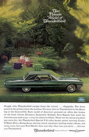 1964 Private World Thunderbird