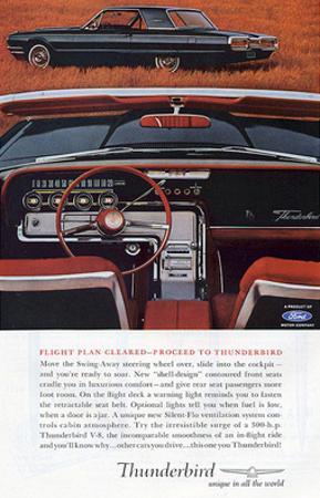 1964 Proceed to Thunderbird