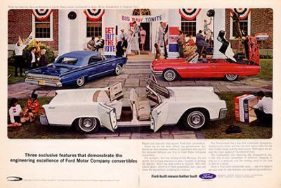 1964 Thunderbird - 3 Features