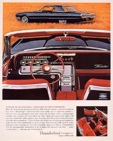 1964 Thunderbird - Flight Plan