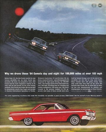 1964Mercury-Comet Daytona Test