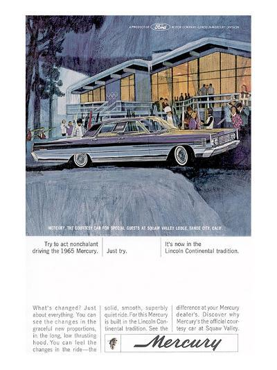 1965 Mercury - Act Nonchalant--Art Print