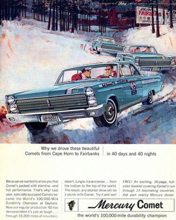1965 Mercury Comets Fairbanks