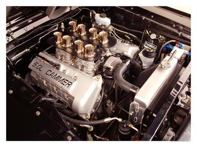 1965 Mustang Fastback FR500 Engine--Giclee Print
