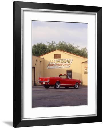 1965 Mustang GT Convertible-David Newhardt-Framed Giclee Print