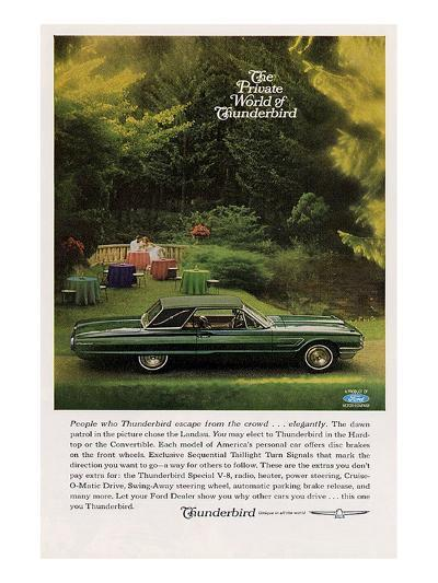 1965 People Who Thunderbird…--Art Print