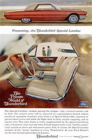 1965Thunderbird Special Landau