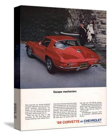 1966 Corvette Escape Mechanism