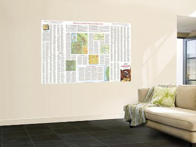 1966 Enjoying Our Scenic Treasures and Historical Sites-National Geographic Maps-Wall Mural
