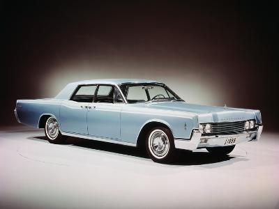1966 Lincoln Continental Four Door Sedan.--Photographic Print