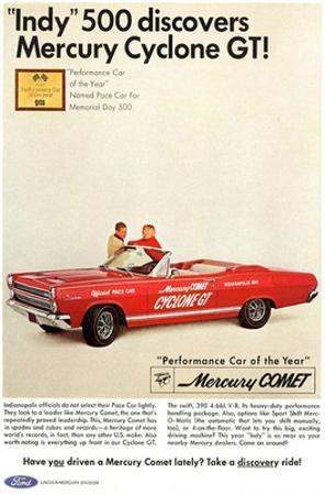 1966 Mercury - Cyclone GT Indy
