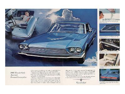 1966 Thunderbird Pers. Luxury--Art Print