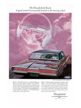 1966 Thunderbird Speed Control