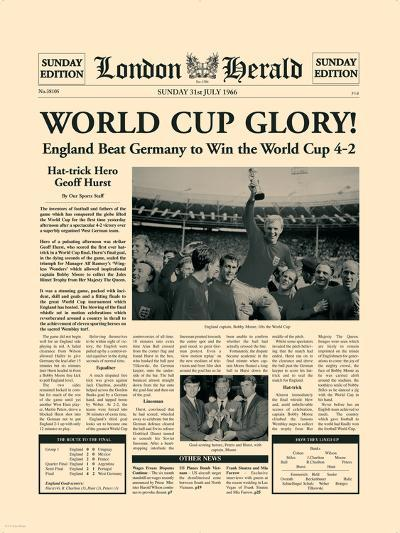 1966 World Cup-The Vintage Collection-Premium Giclee Print