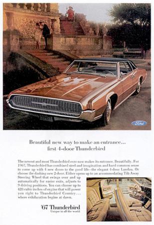 1967 First 4-Door Thunderbird