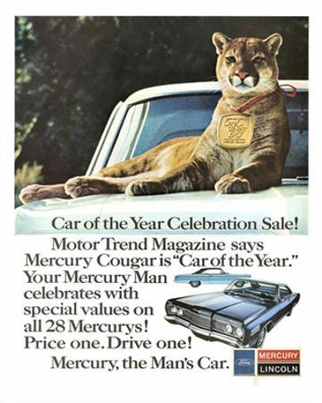 1967 Mercury - Car of the Year