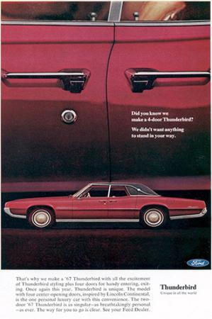 1967 Thunderbird Four-Door