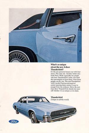 1967 Thunderbird New 4-Door
