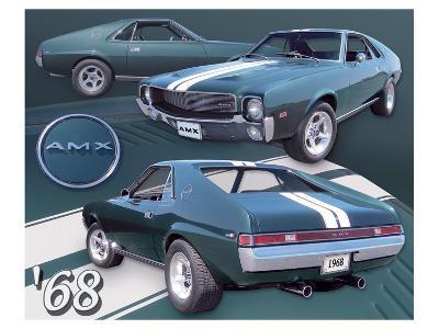 1968 AMX--Art Print