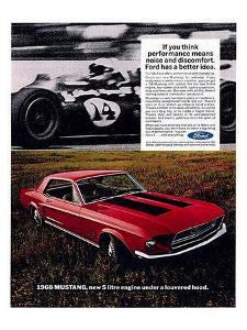 1968 Mustang New 5Litre Engine