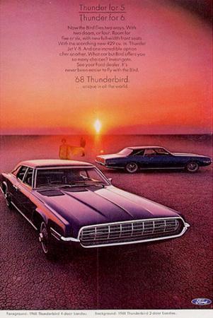 1968 Thunderbird for 5 or 6