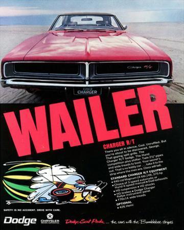 1969 Dodge Charger Rt Wailer