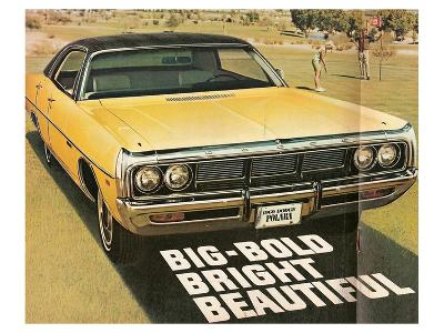 1969 Dodge Polara Gator Top--Art Print