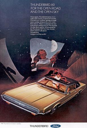 1969Thunderbird Open Road &Sky