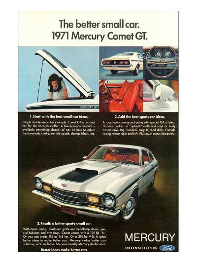 1971 Mercury-Better Small Car--Art Print