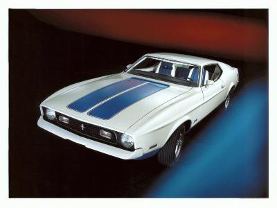 1972 Ford Mustang Sprint--Giclee Print