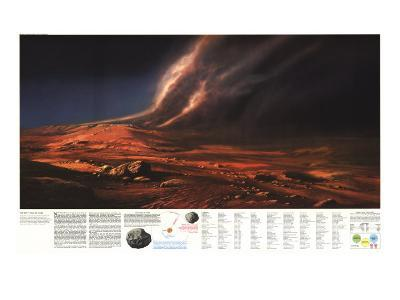 1973 Dusty Face of Mars-National Geographic Maps-Art Print