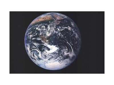 1973 Earth From Space-National Geographic Maps-Art Print