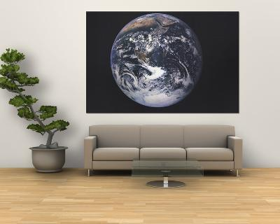 1973 Earth From Space-National Geographic Maps-Giant Art Print