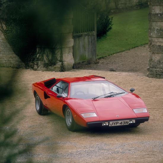 1974 Lamborghini Countach Photographic Print By Art Com