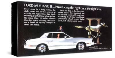 1974 Mustang II - Right Car