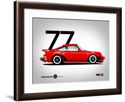 1977 Porsche 930-NaxArt-Framed Art Print