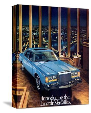 1977 the Lincoln Versailles