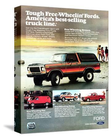 1979 Tough Free Wheelin' Fords