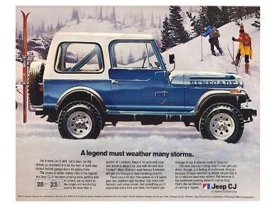 1982 Jeep Renegade - a Legend--Art Print
