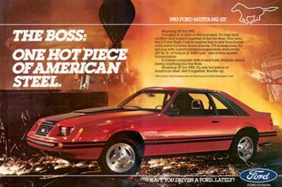 1983Mustang the Boss Hot Piece