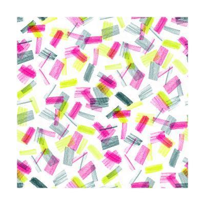1986 Shapes, 2017-Catherine Worsley-Giclee Print