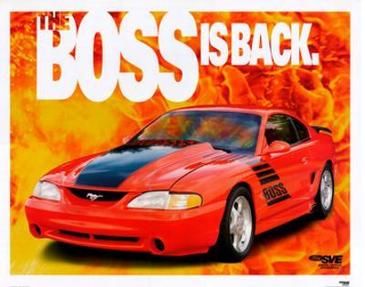1995 Mustang-The Boss is Back