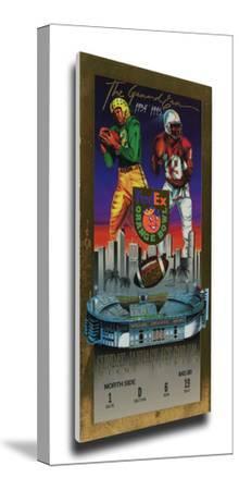 1995 Orange Bowl Mega Ticket - Nebraska Cornhuskers